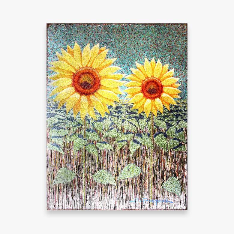 blooming suns encart